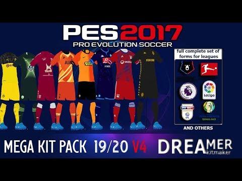 PES 2017 MEGA Kitpack 2019-20 by Dreamer V4