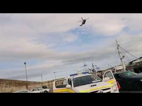 29.08.2016 Irish Coast Guard Rescue Helicopter in Glogherhead