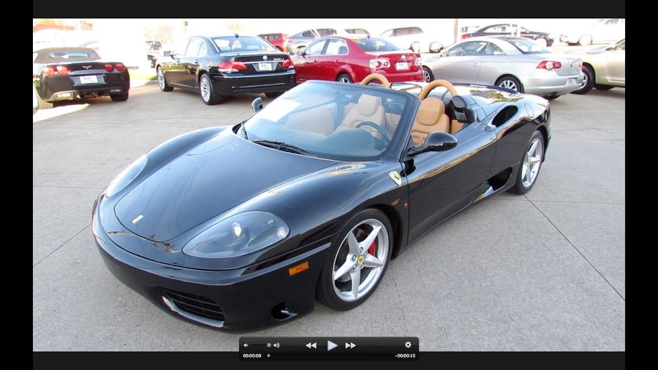 2002 Ferrari 360 Spider Start Up Exhaust And In Depth Tour Youtube