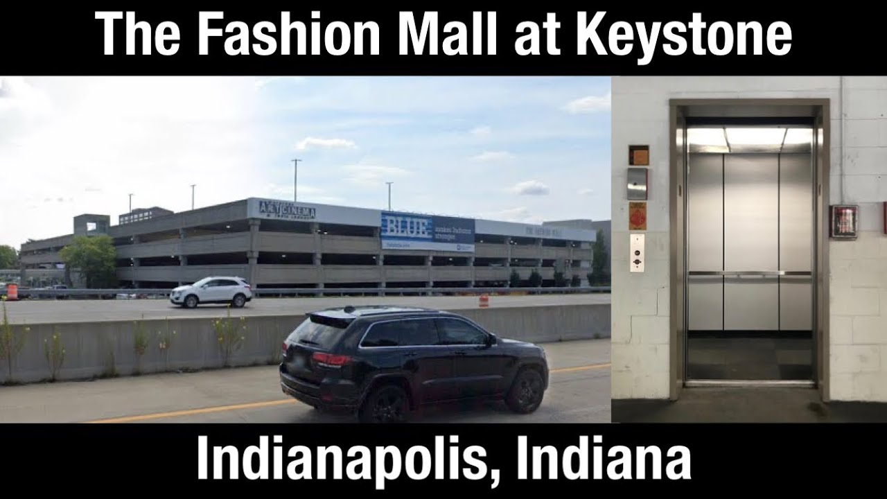 Montgomery Hydraulic Elevator/Lift - The Fashion Mall at Keystone Parking Garage - Indianapolis, IN