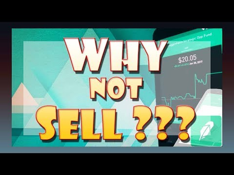 WHY NOT SELL Before the Stock Market CRASHES?? | Robinhood Investing