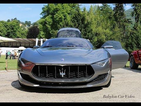 Maserati Alfieri Concept  Start  Sound  YouTube