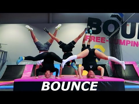 BOUNCE Stockholm Wall Running