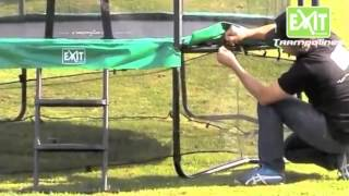 EXIT Trampoline Frame Net Instruction