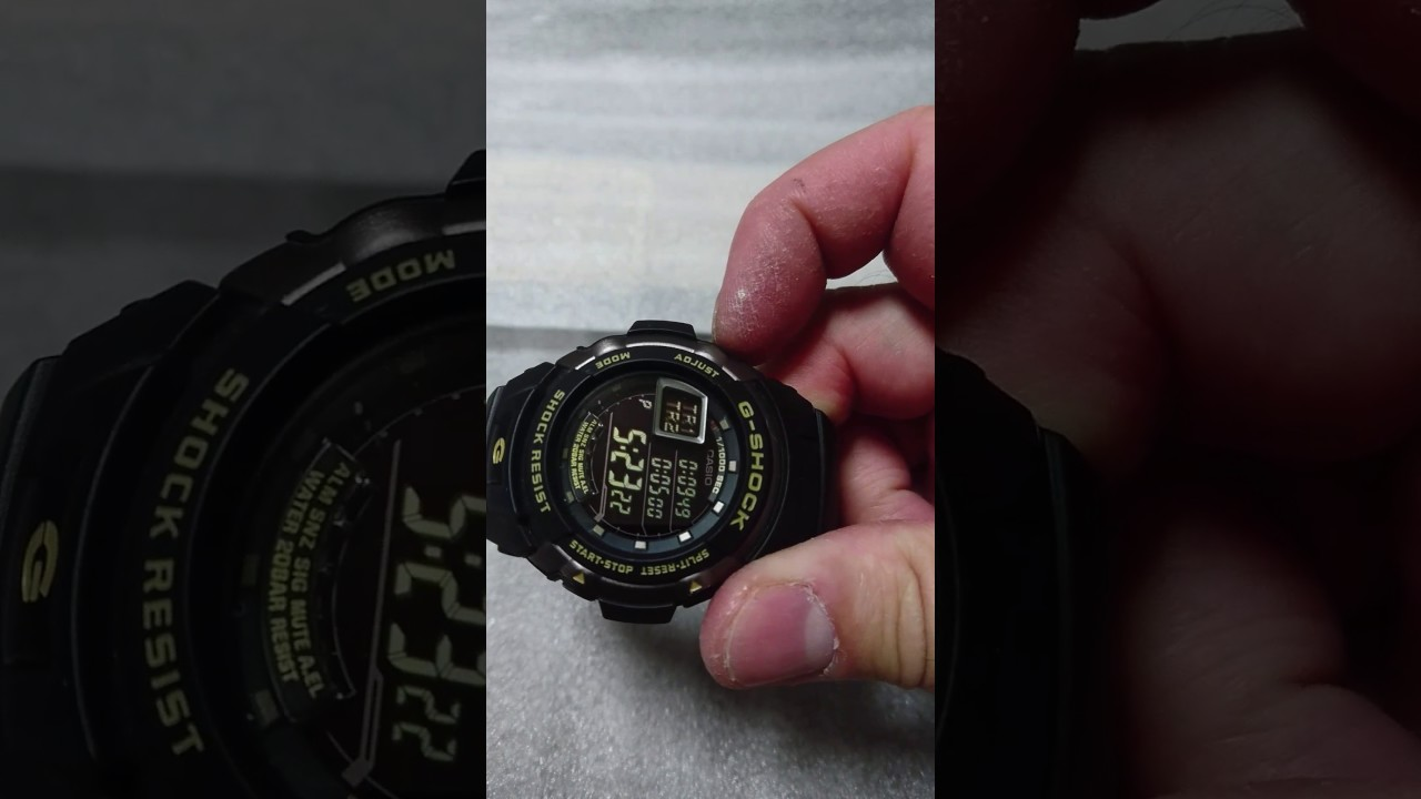 G Shock G7710 Youtube 7710 1dr