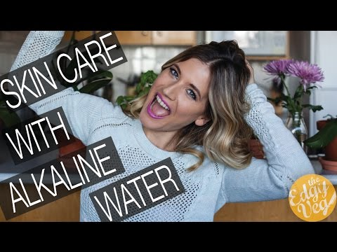 5 Tips to Clearer More Vibrant Skin using Alkaline Water | The Edgy Veg