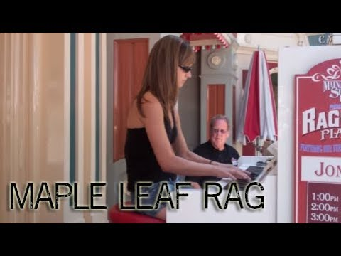 Maple Leaf Rag - Ragtime Piano at Disneyland