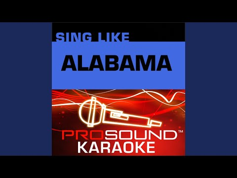 Forever's As Far As I'll Go (Karaoke Instrumental Track) (In the Style of Alabama)