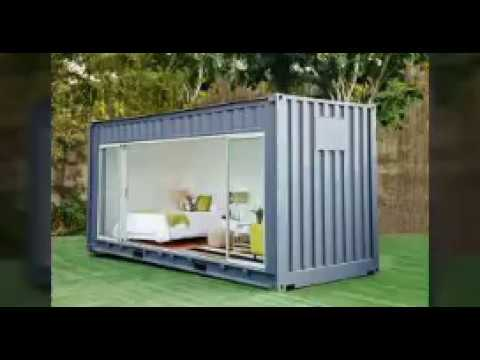 10 Simple diy Shipping Container Homes - YouTube