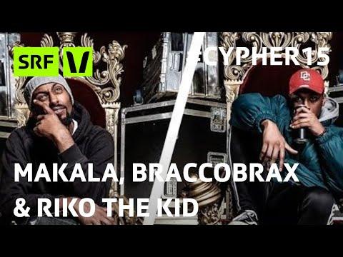 Makala, Braccobrax & Riko The Kid am Virus Bounce Cypher 2015   #Cypher15   SRF Virus