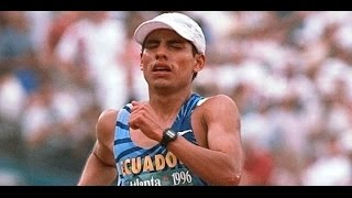 Jefferson Pérez Juegos Olímpicos de Atlanta 1996 Medalla de Oro