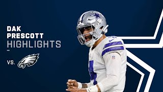 Dak Prescott Home Sweet Home! Top Plays vs. Philadelphia Eagles | 2021 NFL Week 3 Game Highlights