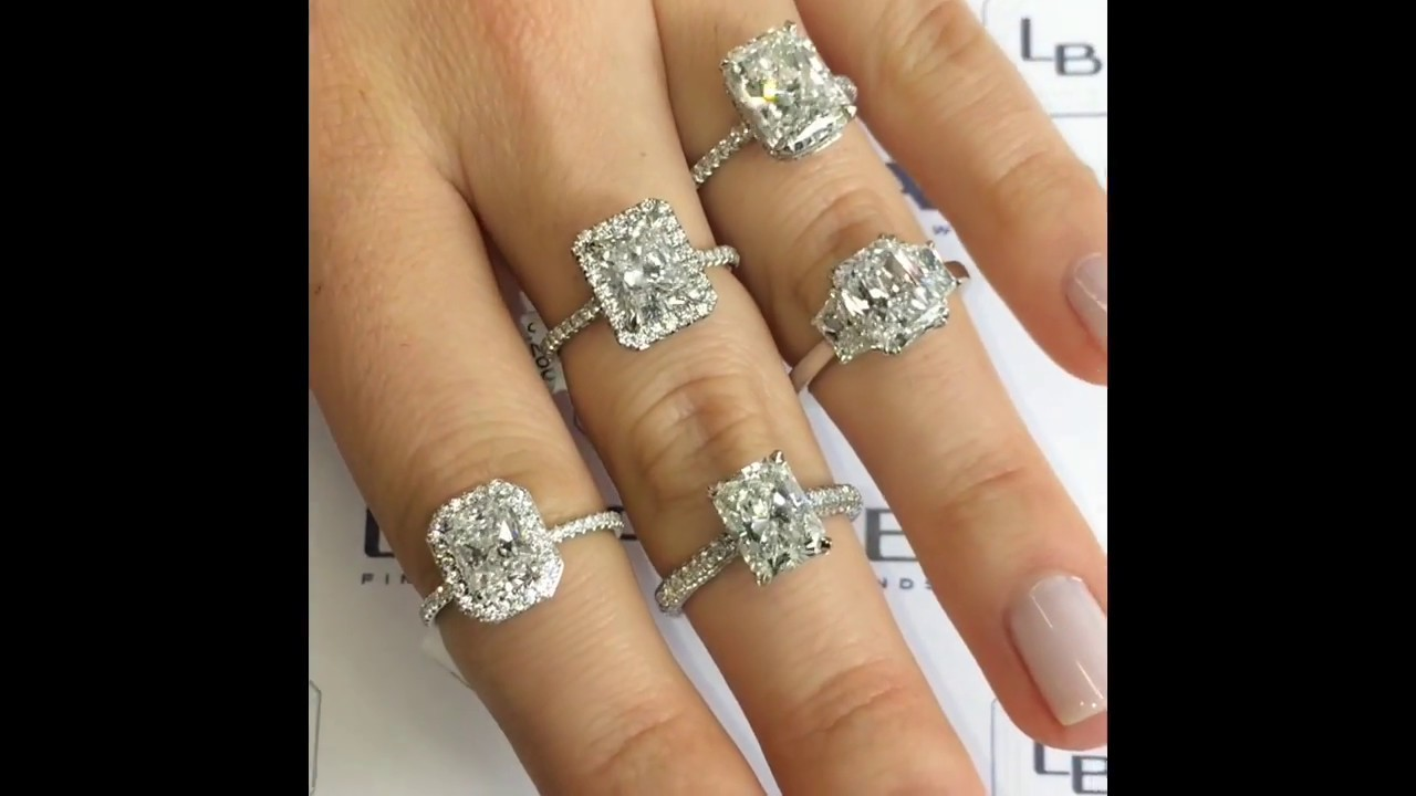 rings pave engagement diamond duquet ring christopher portfolio evanston rectangular horizontal design