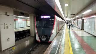 浅草線5500形 東日本橋進入~発車