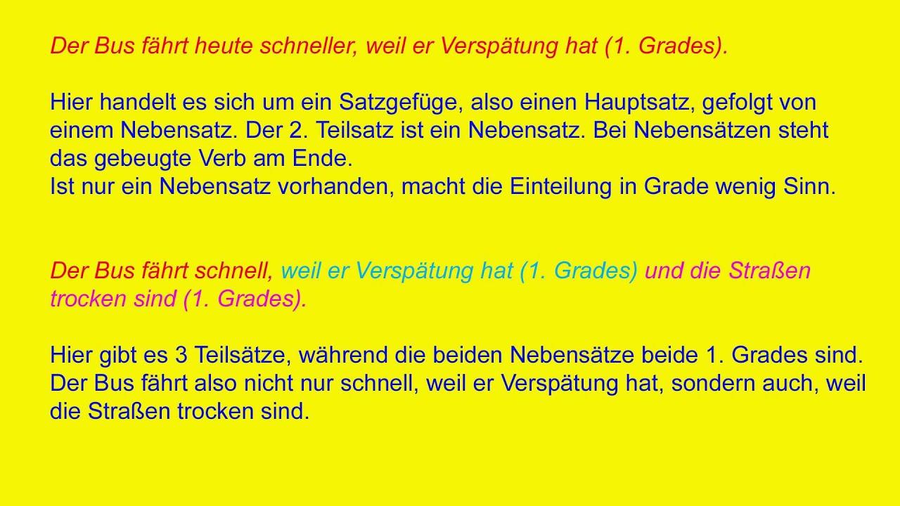 DfM 3.3 Der zusammengesetzte Satz/ Deutsch lernen/ Lektion 3.3 - YouTube