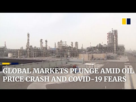 Global stock markets plummet amid coronavirus panic and falling oil prices