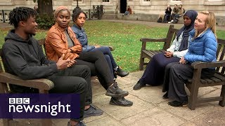 Who can say what at university? – BBC Newsnight