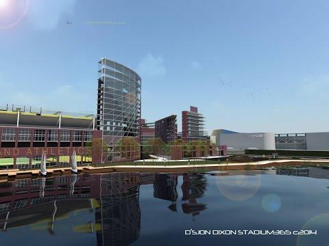 Oakland A's Stadium 365 Estuary Park Project - D'Sjon Dixon, Rick Tripp