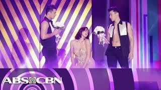 Erich Gonzales heats up the Just Love: The ABS-CBN Trade Event stage with sexy dance number