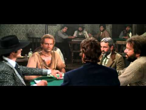 Bud Spencer Terence Hill - la partita di poker!!!