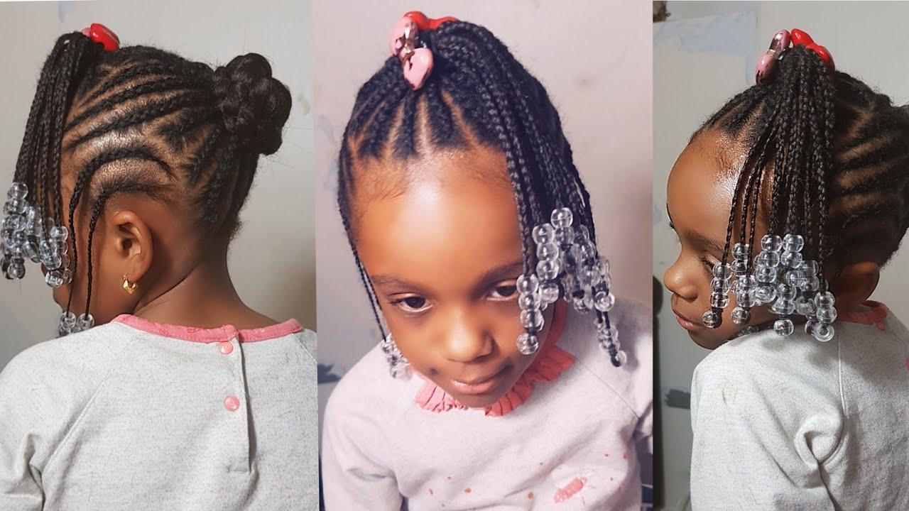 tutoriel tresse africaine enfant