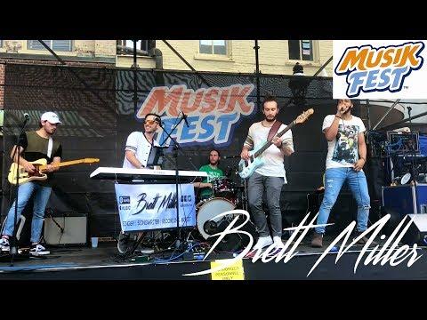 Brett Miller   Live @ MusikFest 2018 (Main Street Stage)