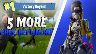 Comment obtenir 5 PLUS DE REFUNDS à Fortnite... PAS CLICKBAIT