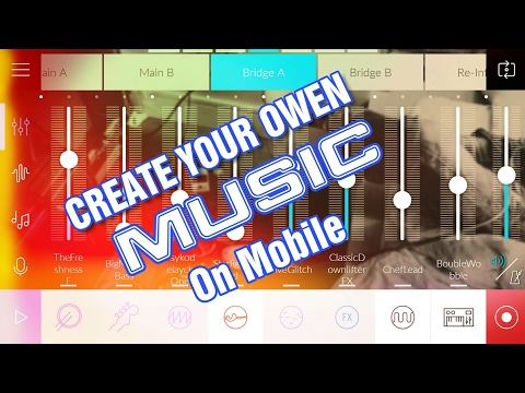 How to create music on mobile | Tutorial • Hindi • BS