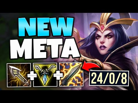 WTF?! FULL AD CRIT LEBLANC CAN KITE ANYONE! (THIS IS AMAZING) - League of Legends