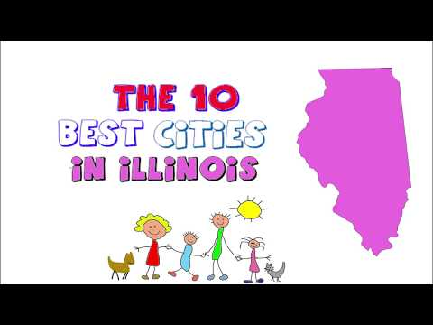 These are the 10 BEST CITIES to live in ILLINOIS
