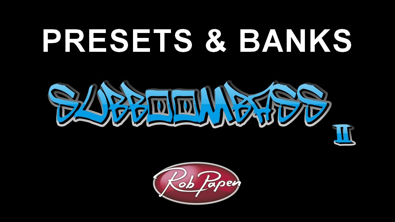 Free patches and sound banks for rob papen subboombass.