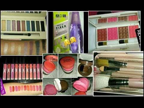 AFFORDABLE MAKEUP HAUL UNDER RS.200 IN INDIA || NYN,KISS BEAUTY,MARS,MUSIC FLOWER || #jyotijiyastore