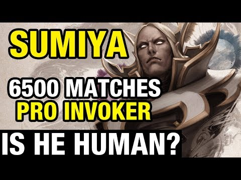 IS HE HUMAN? - SUMIYA IS PRO INVOKER - 6500 MATCHES - Dota 2