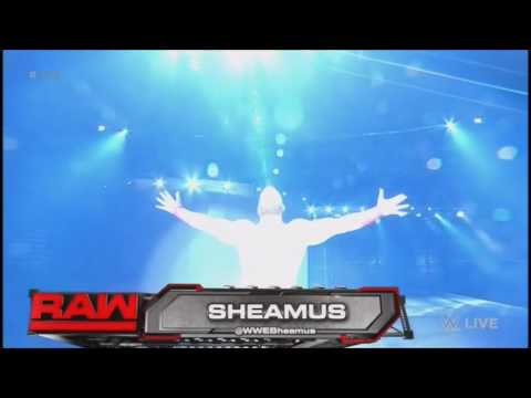 Sheamus NEW entrance!! (Raw 2016-08-29)