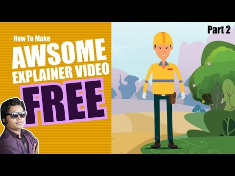 How to Make Explainer Video| Character animation Tutorial | Create Marketing Video