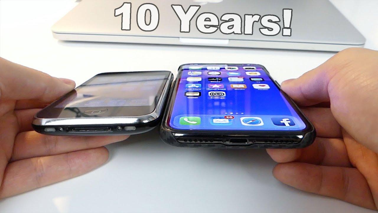 Iphone 3g Vs X Display Comparison 10 Years Apart