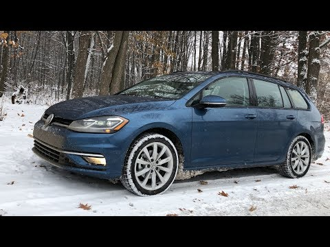 2019 Volkswagen Golf Sportwagen 4MOTION Review