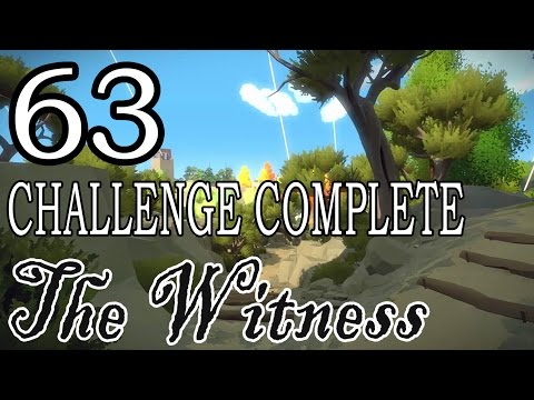 [63] The Witness - CHALLENGE COMPLETE (No Commentary) - Let's Play Gameplay Walkthrough (PS4)