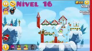 Angry Birds Seasons - 🎄Especial de Natal🎄🎄Parte 2🎄