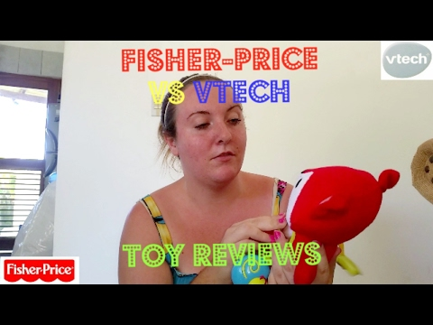 Fisher Price toy's vs Vtech toy's: Baby toy review