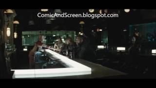 SUICIDE SQUAD analysis - Harley in the rain, Bar Scene - Justice League Universe Podcast