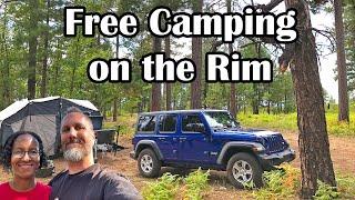Free Camping near Payson, AΖ | Boondocking in Arizona Dispersed Camping