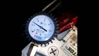 Топливное давление Toyota момент когда глохнет мотор на холостых.