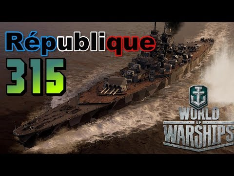 République-French Devastaion 315K Damage || World of Warships