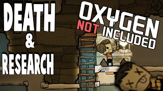 I SUFFOCATE TO DEATH & RESEARCH | Oxygen Not Included Alpha | Part 2