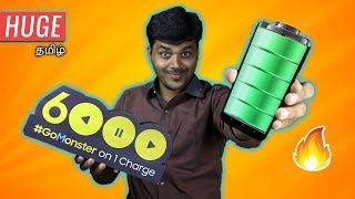 இந்த Mobile-ல 6000mAh Huge Battery 🔋