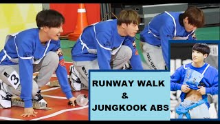 Gambar cover BTS - Taehyung, Jin and J-Hope runway walk like models at the 2016 ISAC