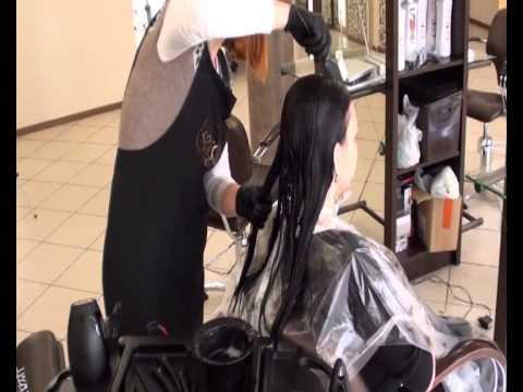 Кератиновое выпрямление волос KERAFILL, кератиновый комплекс - YouTube