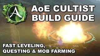 ArcheAge Alpha: Beginner's AoE Cultist Leveling Build Guide (Occultism / Sorcery / Vitalism)