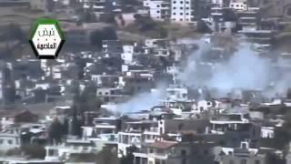 Syria #2 Dictator Assad Tries to Destroy Zabadani City With Heavy Artillery 3-Nov-13 Damascus